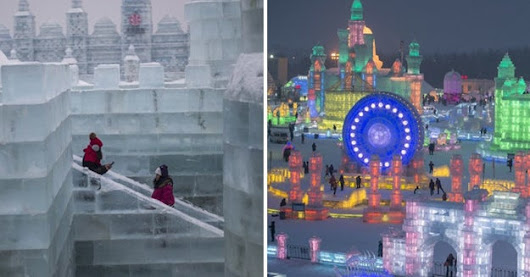 This Entire Place Is Made Out Of Ice And It Will Blow Your Mind