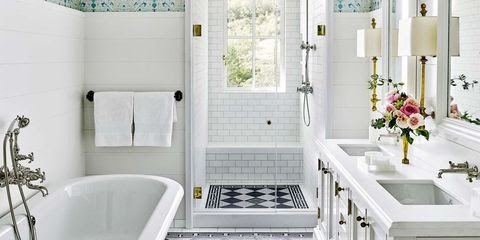 Beautiful Bathroom Tile Ideas White images