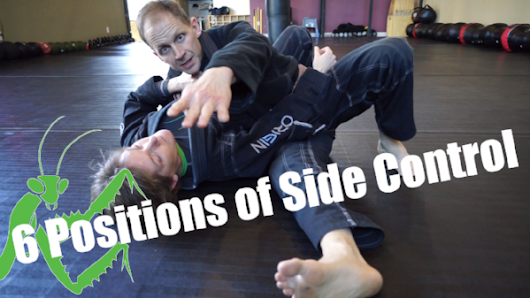 6 Positions of Side Control - How to Drill and Improve Side Mount