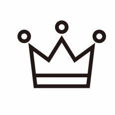 王冠シルエット イラストの無料ダウンロードサイトシルエットac