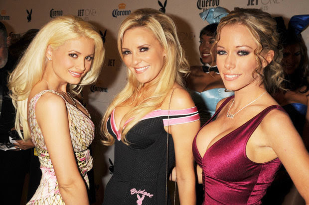 The girls of the Playboy Mansion