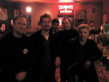 Me, Borgo, Justin Cassidy, Bob Sterling, Kris Hartung