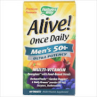 Nature's Way Alive! Once Daily Multi-Vitamin, Men's 50+, Ultra Potency, Tablets - 60 count