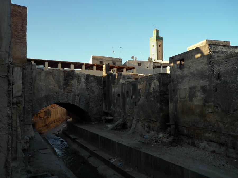 Exterior puente al Tarrafin (Fez)