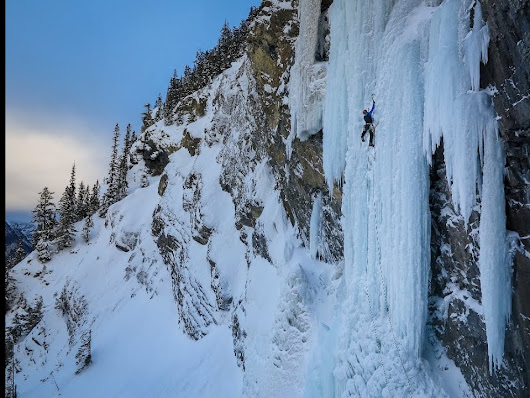 Canadian Rockies Classic Ice Climbs. NZ Alpine Team Mentoring Trip - YouTube