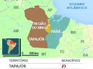 Novo Mapa Plebiscito Divisão do Pará (Foto: Andressa Azevedo/Editoria de Arte)