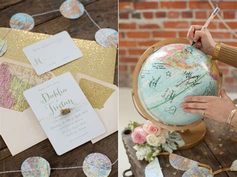 12 Creative Travel Themed Wedding Ideas   Kate Aspen Blog
