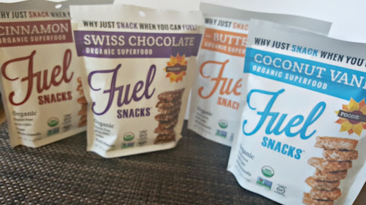 How Foodie Fuel Snacks Help Me Survive My Day plus a Giveaway!
