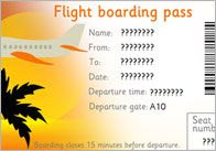 Holiday Booking Form, EYFS Travel Agency Role-Play   Free EYFS ...