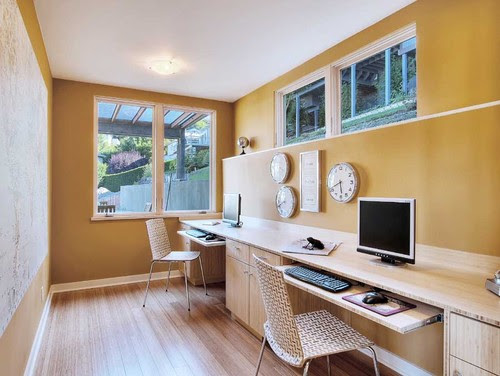 Inverness contemporary home office
