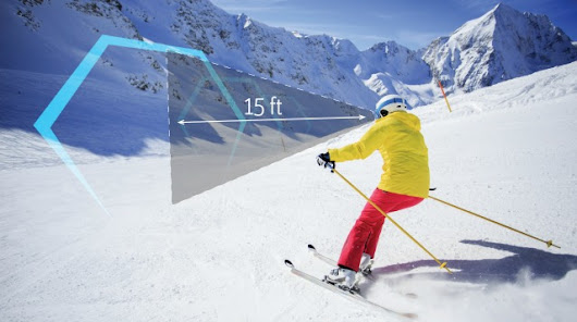 Virtual Reality Skiing: Control Your Ski Goggles...With Your Eyes | Interactive Resorts