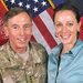 Paula Broadwell with Gen. David H. Petraeus in Afghanistan in 2011.