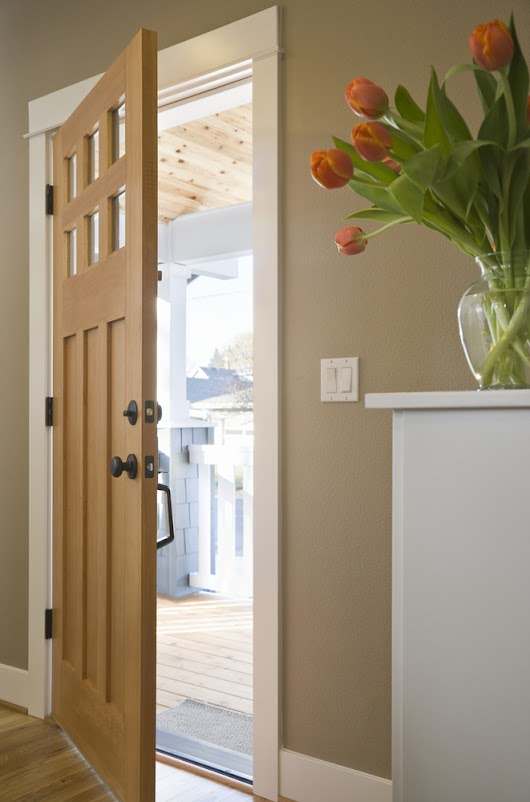 How to maintain the doors in your home