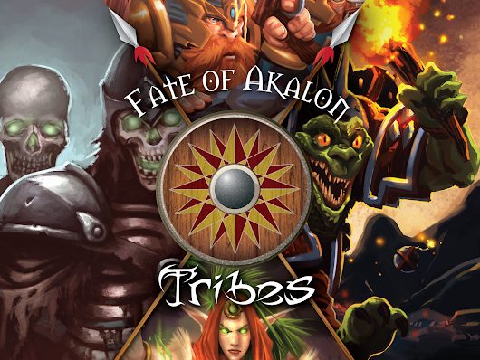 Fate of Akalon: Tribes by Foursight Games —  Kickstarter
