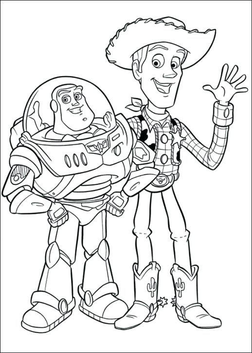 Toy Story Slinky Dog Coloring Pages at GetDrawings | Free ...