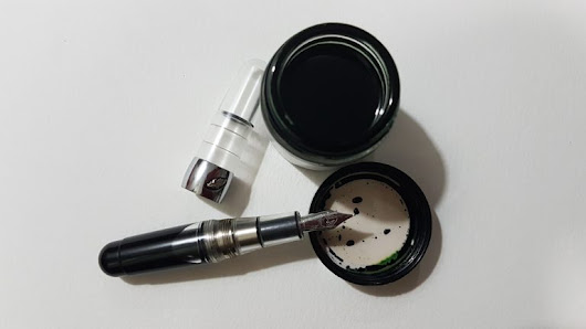 Review of Elixir Ink Company Fountain Pen Ink: River Safari - On Fountain Pens