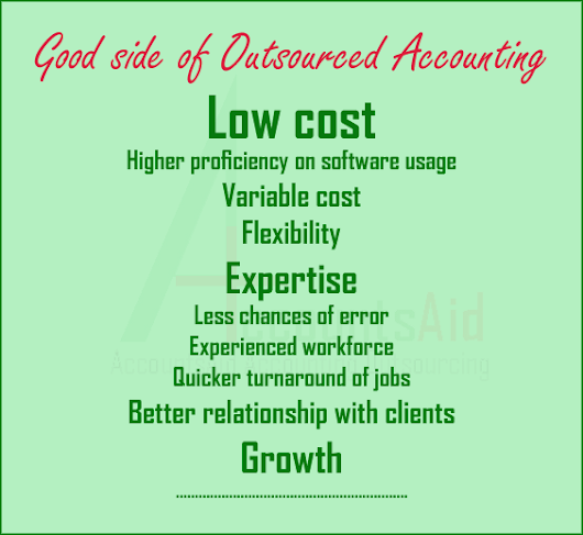 Reliable accounting outsourcing