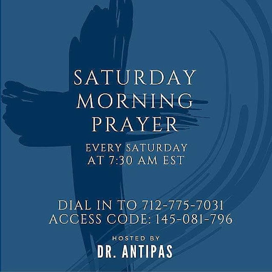 "Dr. Antipas L Harris on Twitter: ""Join me for the last SMP in 2016!!! Saturday morning at 7:30am EST, call in on the number on the flyer below! """