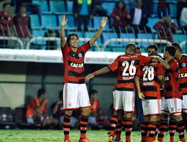 Marcelo Moreno gol Flamengo x ASA (Foto: Fabio Castro / Ag. Estado)