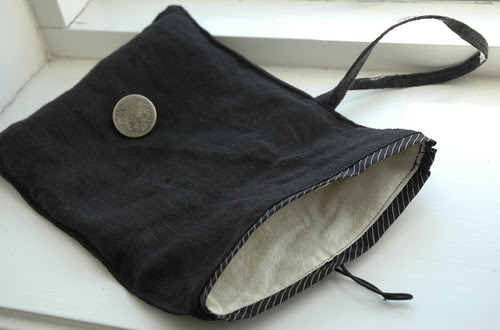 black pouch :: sort veske #3