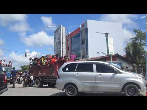 Video, Knpb di Timika mendukung Ulmwp dan Ratusan Anggota ditangkap Tni-Polri