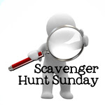 Scavenger Hunt Sunday!!!