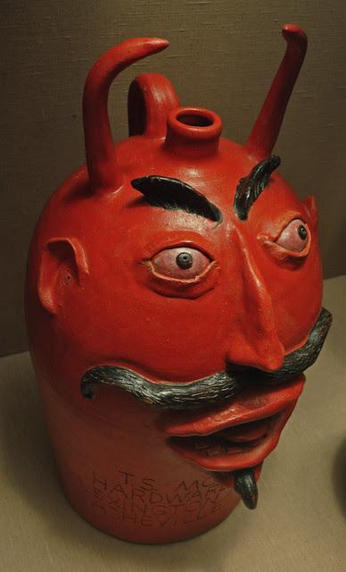 Devil Face Jug - Davis Brown