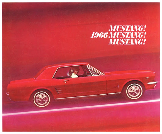 1966 Ford Mustang Brochure