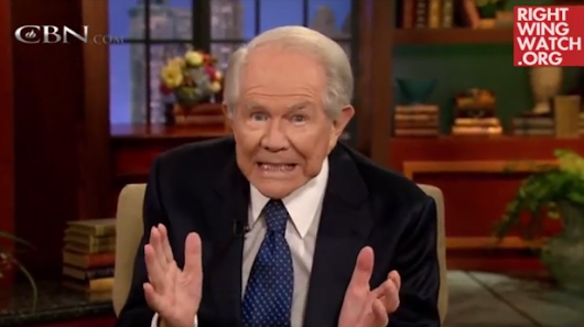 Pat Robertson recommends reverse mortgage because Jesus needs money
