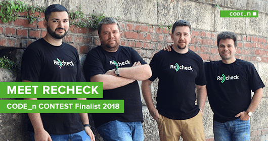 MEET OUR CODE_N CONTEST FINALISTS 2018: ReCheck from the Netherlands | CODE_n