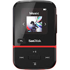 SanDisk 32GB Clip Sport Go Wearable MP3 Player (Red)