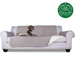 FurHaven Pet Furniture Cover   Reversible Furniture Cover Protector For Dogs & Cats (Gray/Mist, Sofa)