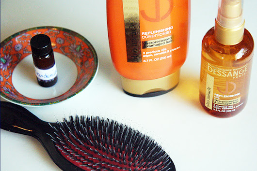 Review: Dessange Paris Replenishing Conditioner and Oil