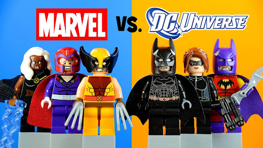 Marvel vs DC Superheroes LEGO KnockOff Minifigures Set 11 Batman ...