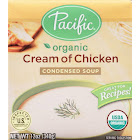 Pacific Foods Condensed Soup, Cream of Chicken - 12 fl oz carton