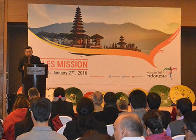"The Ministry of Tourism of Indonesia MoT continues to aggressively promote ""Wonderful"