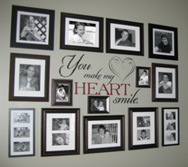 8 Ideas For Photo Collage Gallery Walls \u2013 Home and Garden