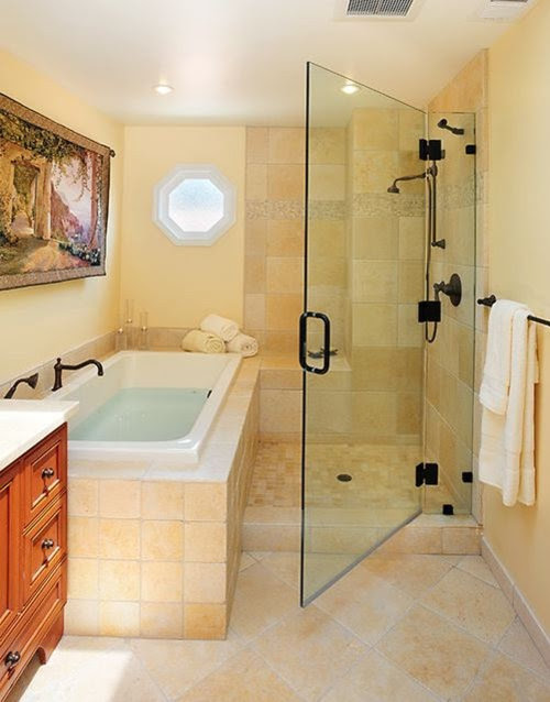 Separate Shower And Tub Home Design Ideas, Pictures ...