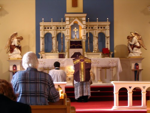 Traditional Latin Mass, Queen of Peace Church, Victoria BC