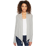 Alternative Stevie Wrap Women's Clothing Earth Grey : MD
