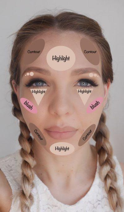 Self makeup video