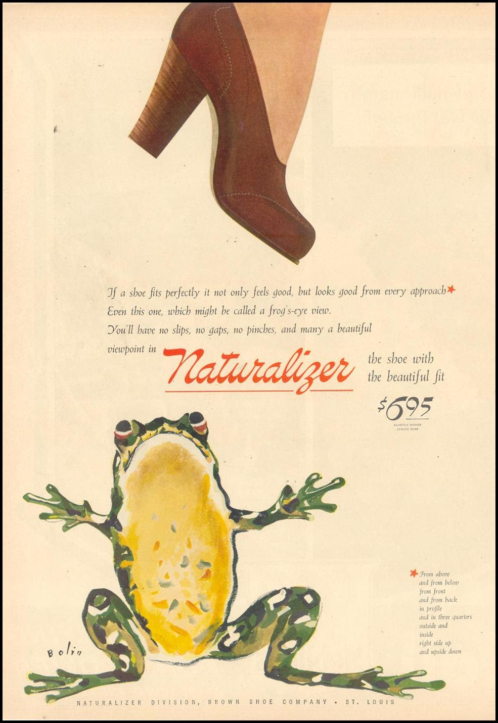 NATURALIZER SHOES LIFE 02/21/1944