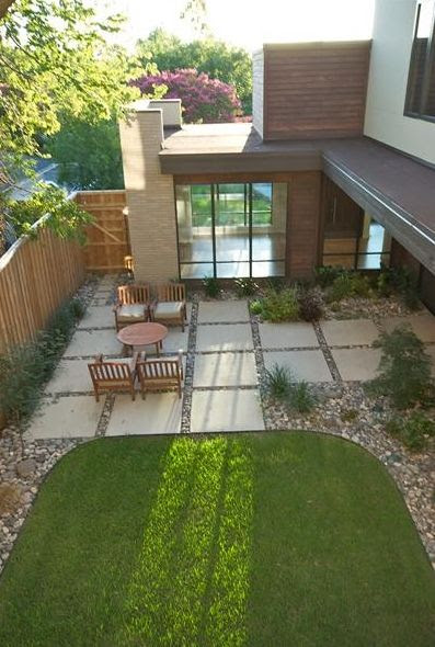 Great backyard landscaping ideas with pavers