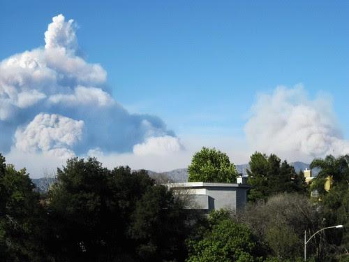 La Canada Fire August, 2009