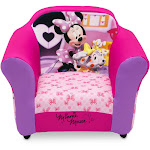 Minnie Mouse Upholstered Toddler Chair