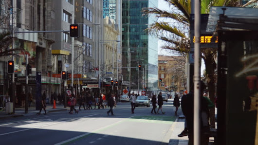 The Perils and Joys of being a Pedestrian in Auckland