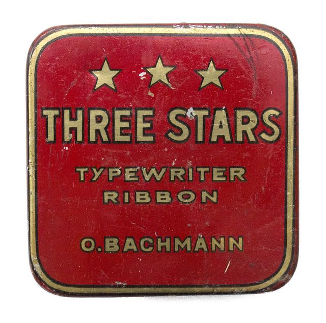 Farbbanddose Three Stars