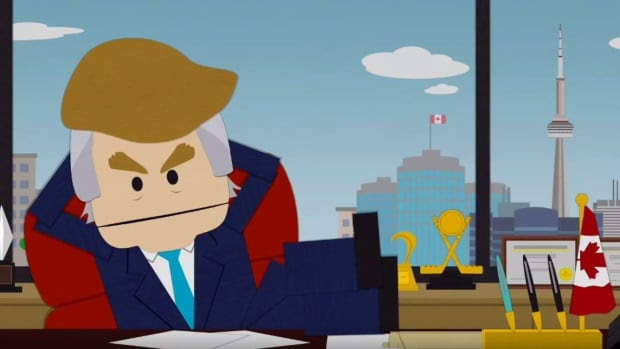 The widely-acclaimed episode of South Park, Where My Country Gone, parodied the Republican presidential hopeful's attitude on immigration and the U.S. presidential race at large.