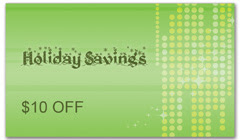 CPS-1048 - salon coupon card