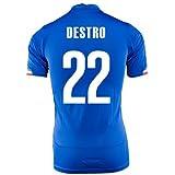 PUMA DESTRO #22 ITALY HOME JERSEY WORLD CUP 2014/サッカーユニフォーム イタリア代表 ホーム用 ワールドカップ2014 背番号22 デストロ (S)